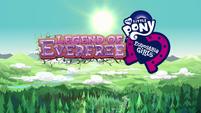 Legend of Everfree opening credits normal logo EG4