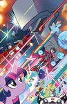 My Little Pony Transformers issue 4 cover A textless
