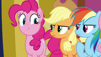 Pinkie Pie stops gasping S8E24