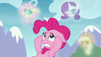 Pinkie haunted by visions of her friends S8E3