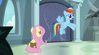 "Rainbow Dash ""exposes her secret"" S9E21"