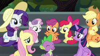 """Spike """"almost as excited as Pinkie Pie!"""" S6E7"""