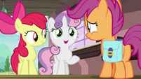 "Sweetie Belle ""Rarity won't be mad"" S9E12"
