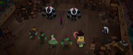 Tempest Shadow vs. Celaeno's pirates MLPTM