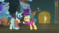 """Trapeze star """"it isn't just your show"""" S6E20"""