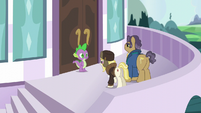 """Whinnyapolis delegate """"we need the Princess Twilight to resolve it"""" S5E10"""