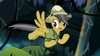 "Daring Do ""make the pony holding it"" S9E21"