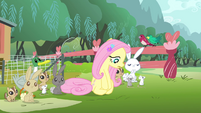 Fluttershy 'you didn't hear me' S4E14