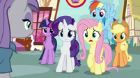 Fluttershy -have you seen Pinkie Pie-- S8E18