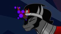 King Sombra charging his magic S9E2