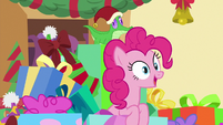 """Pinkie """"this is the biggest holiday challenge"""" MLPBGE"""