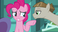 """Pinkie Pie uncomfortable """"you and me!"""" S8E3"""