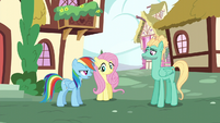 """Rainbow """"we're going to Wonderbolts Headquarters"""" S6E11"""