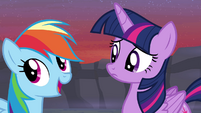 "Rainbow Dash ""I've always kinda wondered"" S4E16"