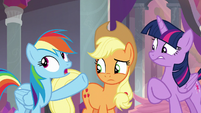 """Rainbow Dash """"not all the time"""" S8E9"""