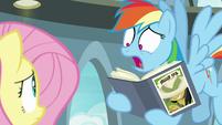 """Rainbow Dash """"she's a real, live pony!"""" S9E21"""
