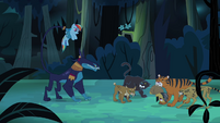 Rainbow and Daring in trouble S4E04