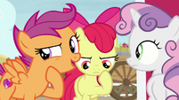"""Scootaloo """"did you see the way he was acting?"""" S7E8"""