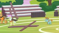 Snips returns to the buckball field S9E15