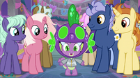 "Spike ""that crazy dance you did!"" S9E7"