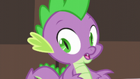 Spike hears other delegates approaching S5E10