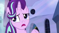 "Starlight mentions Sunburst's ""important wizard work"" S6E1"