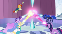 Sunburst leaps for the Crystal Heart S6E2