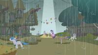 Twilight Sparkle bright patch amongst the rain S1E3