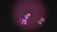 Twilight encounters Stygian in the darkness S7E26