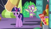 Twilight still depressed after talking to Pinkie S9E26