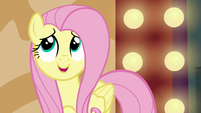 """Fluttershy """"that adorable bunny from the acrobat's act"""" S6E20"""