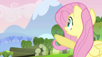 """Fluttershy """"there's a big mess"""" S03E10"""