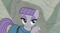 Maud Pie tapping on the rocks S9E4
