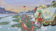 Pie family rock farm with new decorations S5E20.png