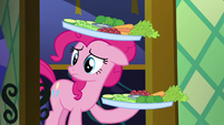 Pinkie Pie arrives with the snacks S5E19