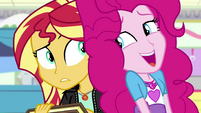 Pinkie tells Sunset to share what she's feeling EGS3