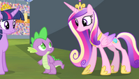 """Princess Cadance """"we can't turn back time"""" S4E24"""