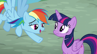 """Rainbow """"Kind of an inside joke from this weekend"""" S5E22"""