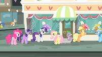 Rarity '...of the most glamorous city in Equestria!' S4E08