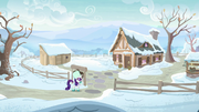 Rarity arrives at Sweet Acorn Orchard MLPBGE.png