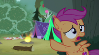 """Scootaloo """"where did those terrible bugs come from?"""" S7E16"""