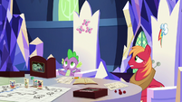 """Spike """"you have to roll a seventeen or higher"""" S6E17"""