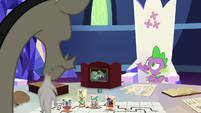 """Spike """"you practically begged her to stay!"""" S6E17"""