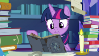 """Twilight """"there's parts where his hornwriting"""" S7E25"""