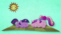 Young Twilight and Cadance ladybugs awake BFHHS1