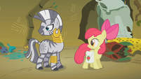 Zecora turns to look at her treasures S1E09