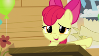 """Apple Bloom """"could just sit quietly in the corner"""" S5E4"""
