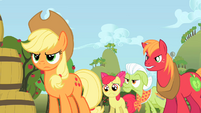 Apple family angry at Flim and Flam S2E15