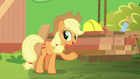 """Applejack """"here is what we're gonna use"""" S8E9"""