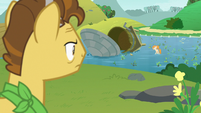 Grand Pear looks at the flooded fields S7E13
